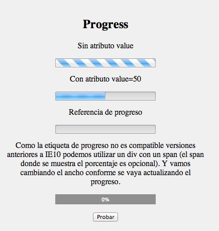 etiqueta progress