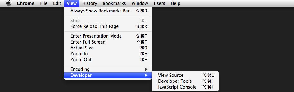 Habilitar herramientas para desarrolladores