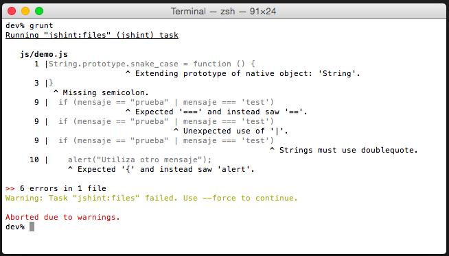 Evaluar el código