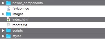Visualización del proyecto en un servidor web