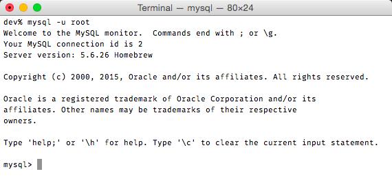 Iniciar mysql desde la linea de comandos
