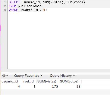 Utilizar funciones de agregación en datos agrupados